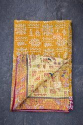 Small Kantha Sari Quilts